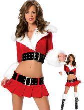 Новогодний костюм Снегурочка с юбкой