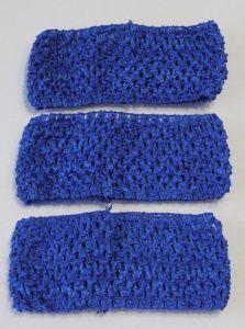 Повязка ажурная, 70 мм, цвет №26 синий (1 уп = 12 шт), Арт. ПВ0042
