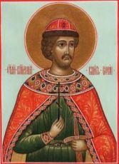 Икона Борис, князь (рукописная)