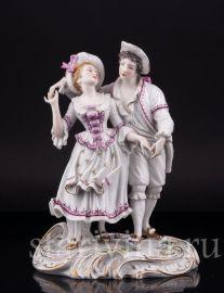 Танцующая пара, Dressel, Kister & Cie, Германия, нач. 20 в