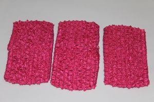 Повязка ажурная, 70 мм, цвет розовый (1 уп = 12 шт)