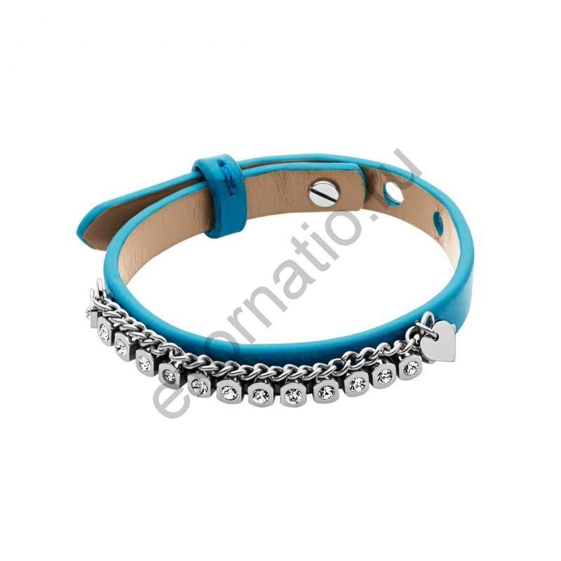 Браслет Dyrberg Kern 335447. Коллекция Beads & Leather