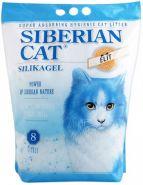 """Сибирская кошка """"Элита"""" Впитывающий силикагелевый наполнитель (синий) (8 л)"""