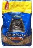 """Сибирская кошка """"Эффект"""" Впитывающий наполнитель (3 л)"""