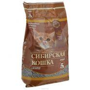 """Сибирская кошка """"Для котят"""" Впитывающий наполнитель (5 л)"""