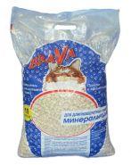 BraVa Впитывающий минеральный наполнитель для длинношерстных кошек, синий (15 л)