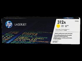CF382A  Kартридж оригинальный Hewlett-Packard HP 312A Yellow LaserJet (CF382A)