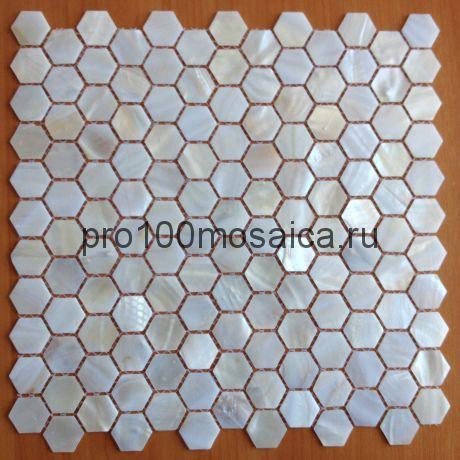 MBK029 Мозаика из перламутра серия PERLMUTTER, 300*300*2 мм
