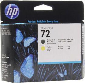 C9384A  Печатающая головка  оригинальная  HP 72 Matte Black & Yellow printhead