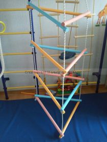Треугольная веревочная лесенка
