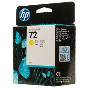 C9400A  Картридж  оригинальный HP 72 Yellow 69 ml Ink Cartridge
