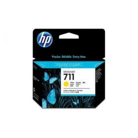 CZ136A  Картриджи  оригинальные  HP 711 с желтыми чернилами 29мл, 3шт. в упаковке