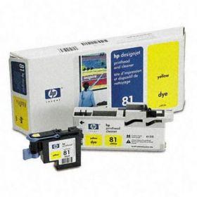 C4953A  Печатающая головка  оригинальная  Hewlett-Packard № 81 желтый