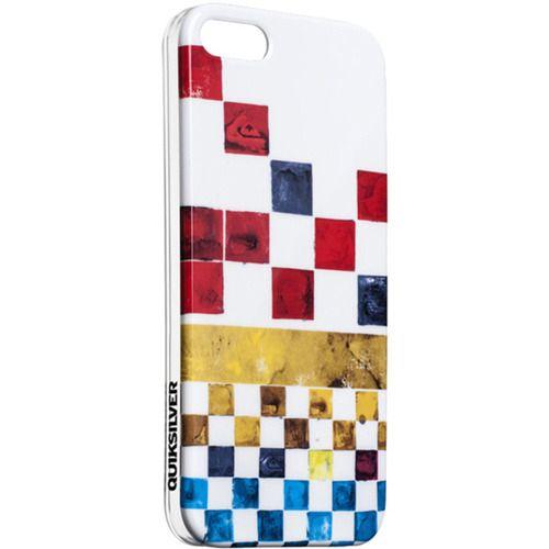 Чехол-крышка Quiksilver Graphic Line для iPhone 5/5S (красный)