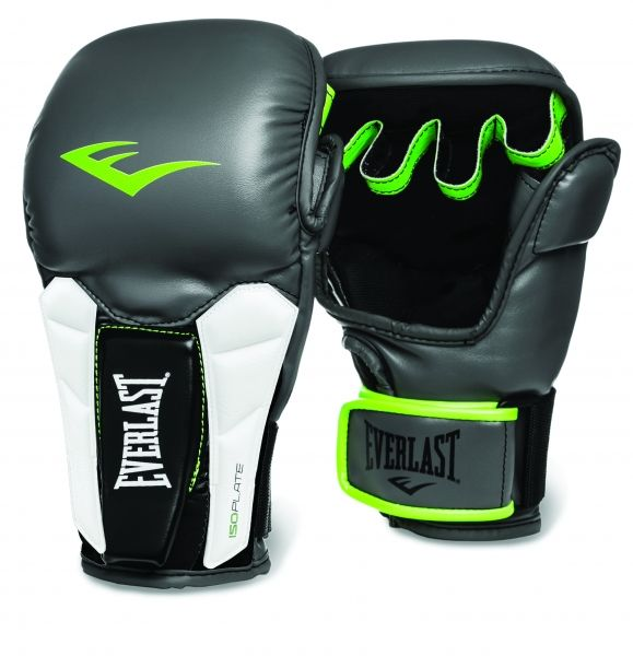 Перчатки тренировочные Everlast  Prime MMA, размер LXL, серо-зелёные, артикул 3200000