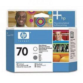 C9410A  Печатающая головка  оригинальная  HP 70 Gloss Enhancer and Gray printhead
