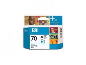 C9404A  Печатающая головка   оригинальная  HP 70 Matte Black + Cyan printhead