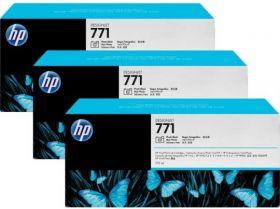 B6Y32A  Тройная упаковка картриджей  оригинальных  с хроматическими красными чернилами HP № 771 емкостью 775 мл