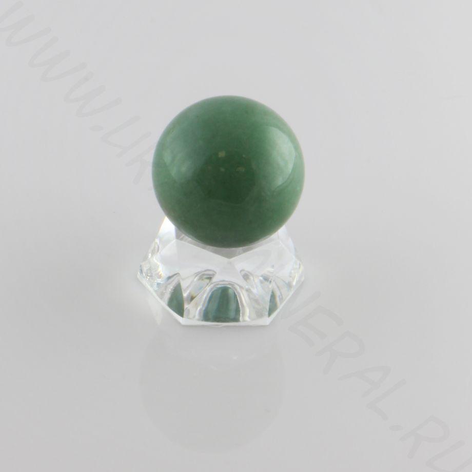 Шар (30 мм) - Зеленый кварц