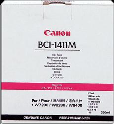 Canon BCI-1411M, 7576A001 Картридж  оригинальный пурпурный 330 мл