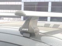 Багажник на крышу Peugeot 408, Атлант, крыловидные дуги, опора Е