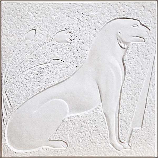 """Панно """"Египет"""" арт. 001Б Белое"""