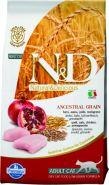 N&D Cat Low Grain Chicken & Pomegranate Низкозерновой корм для взрослых кошек, курица/гранат (5 кг)