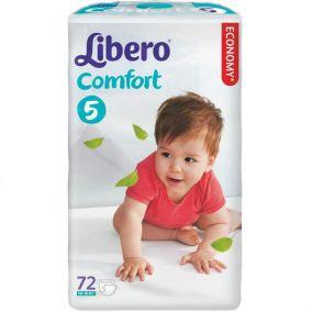 Подгузники Libero Comfort 5 (10-16 кг) 72 шт.