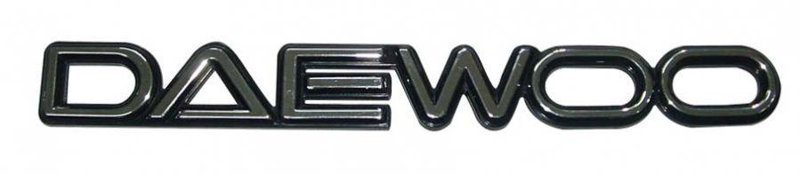 Эмблема DAEWOO большая 96137242 General Motors