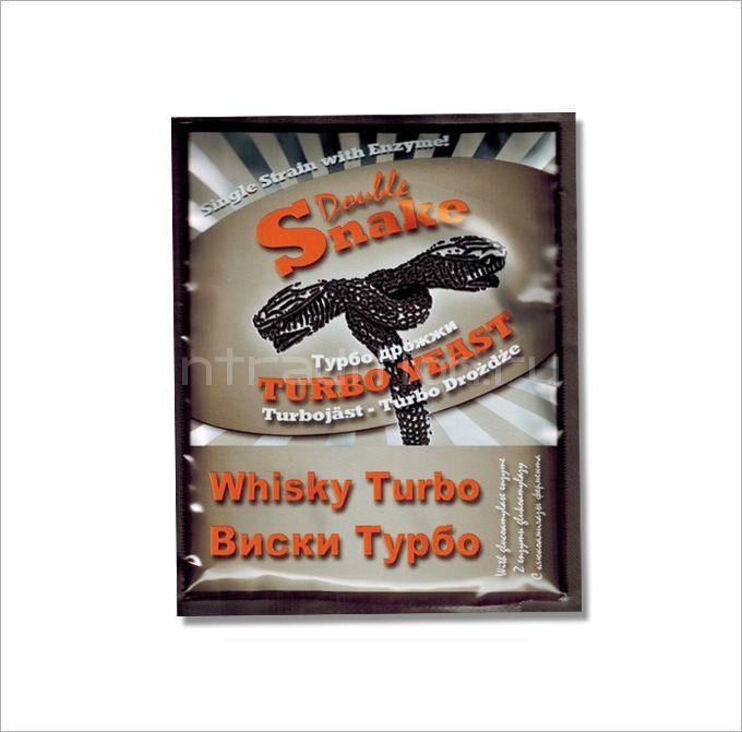 Турбо дрожжи Double Snake Whisky Turbo, для виски, 70 гр. (Великобритания)