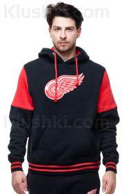 Толстовка с символикой NHL / Detroit Red Wings (Black)