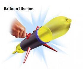 Balloon Illusion Прохождение сквозь воздушный шар