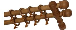 Карниз деревянный ДК 21 дуб