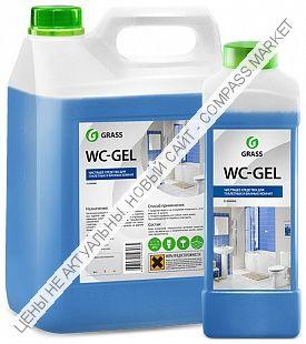 Средство для чистки сантехники «WC-Gel» 0,75л; 1л; 5кг.