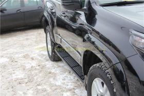 Молдинги на двери (Тип 6) для Toyota Land Cruiser Prado 150  -