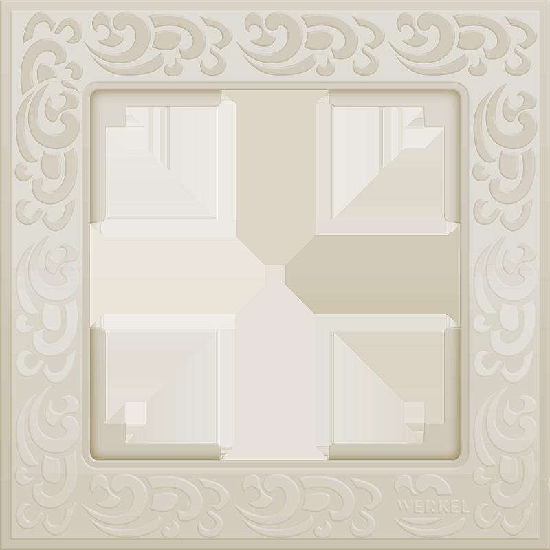 Рамка 1п WL05-Frame-01(слоновая кость)