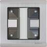 Рамка 1п WL02-Frame-01(глянц.никель)