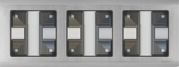 Рамка 3п WL02-Frame-03(глянц.никель)