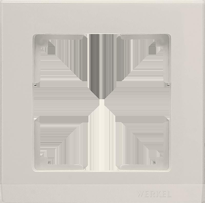 Рамка WERKEL 1п.сл.к.WL04-Frame-01