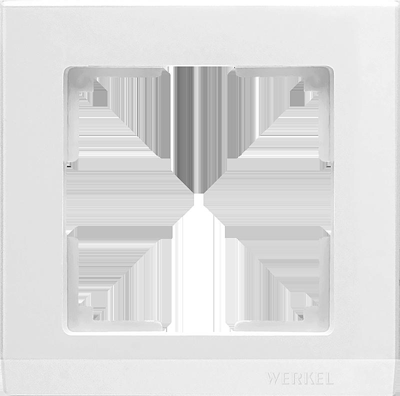 Рамка WERKEL 1п.белая WL04-Frame-01