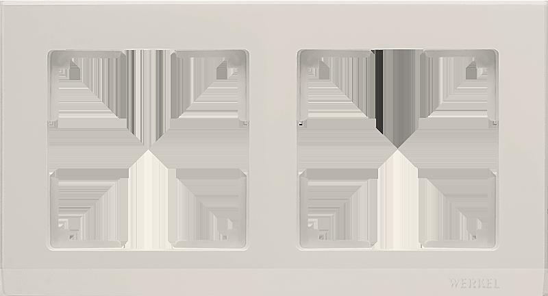Рамка WERKEL 2п.сл.к. WL04-Frame-02