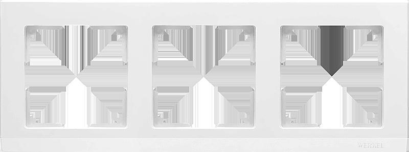Рамка WERKEL 3п.белый WL04-Frame-03