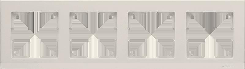Рамка WERKEL 4п.сл.к.WL04-Frame-04