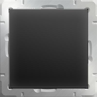 Выключатель WERKEL 1кл.WL08-SW-1G черн.