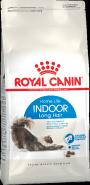 Royal Canin Indoor Long Hair Корм для домашних длинношерстных кошек (10 кг)