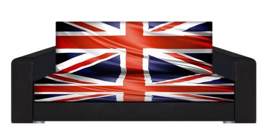"Диван-книжка фото-принт ""Британский флаг 4"""
