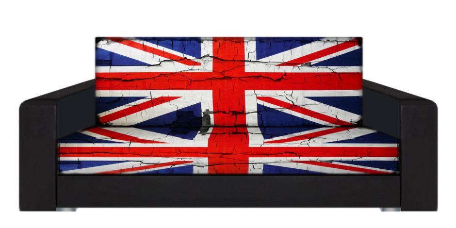"Диван-книжка фото-принт ""Британский флаг 7"""