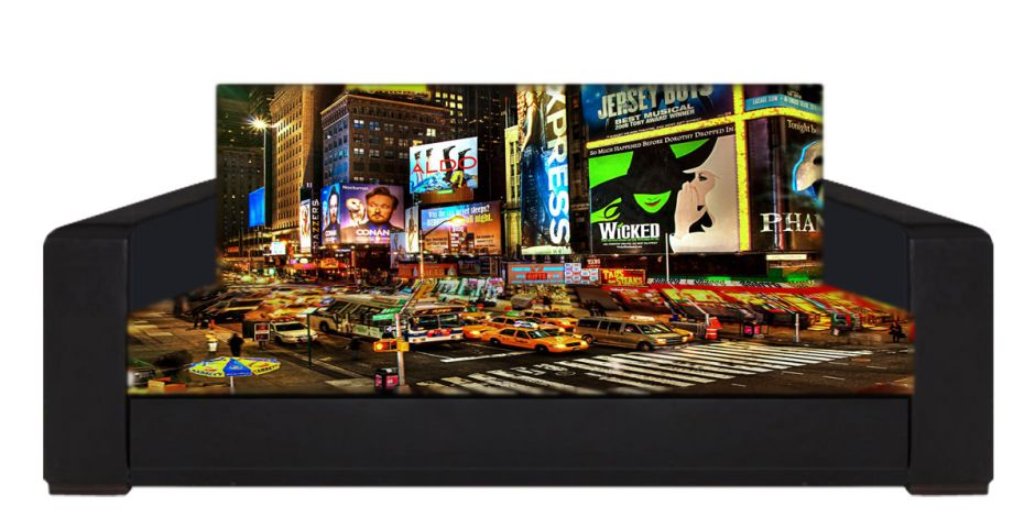"Диван-книжка фото-принт ""Нью-Йорк 4"""