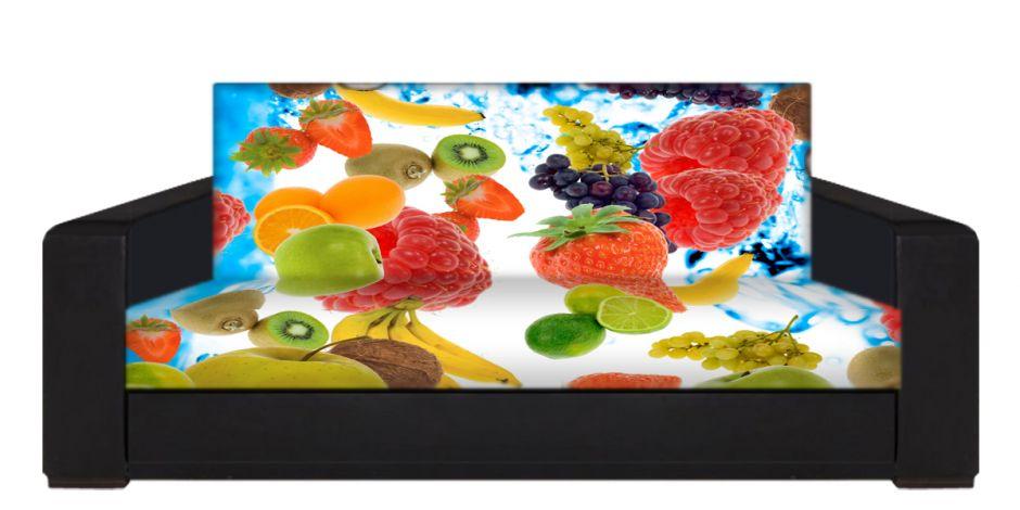 """Диван-книжка фото-принт """"фрукты 3"""""""