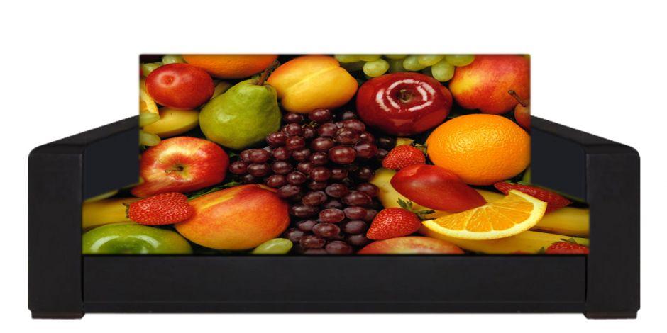"""Диван-книжка фото-принт """"фрукты 5"""""""